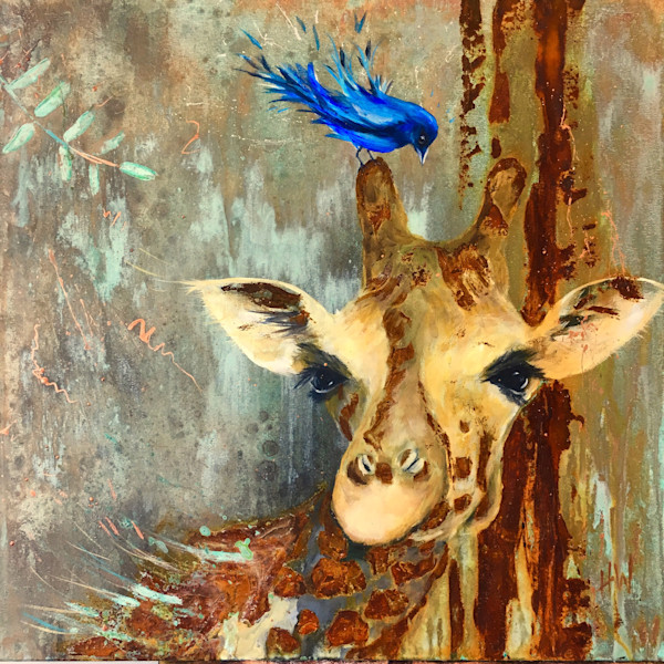 Paintings of birds and animals by Holly Whiting