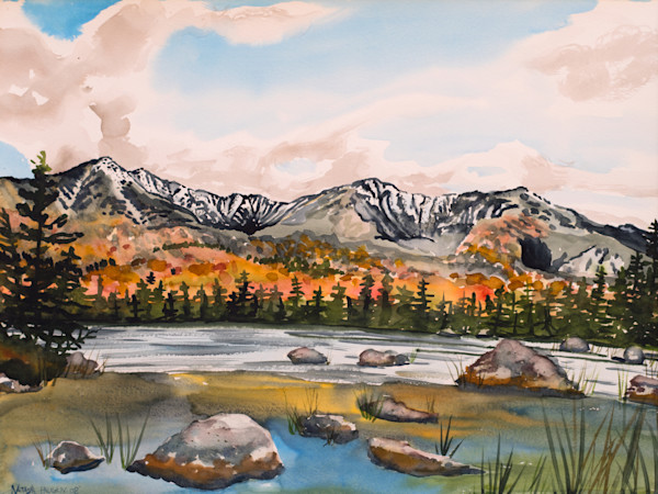 Maine Coast, Mountain and Lake Paintings for Sale