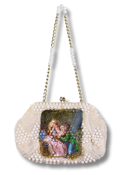 Painted Purse by Annelie McKenzie