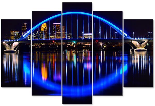 Blue - Minneapolis Panel Art | William Drew Photography