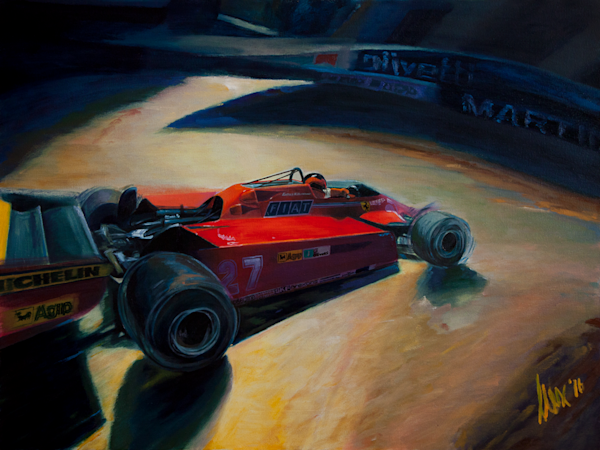 Gilles Villeneuve – Monaco 1981 Original