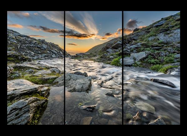 Hatcher Pass Alaska Triptych