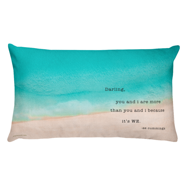 Darling, it's WE Pillow