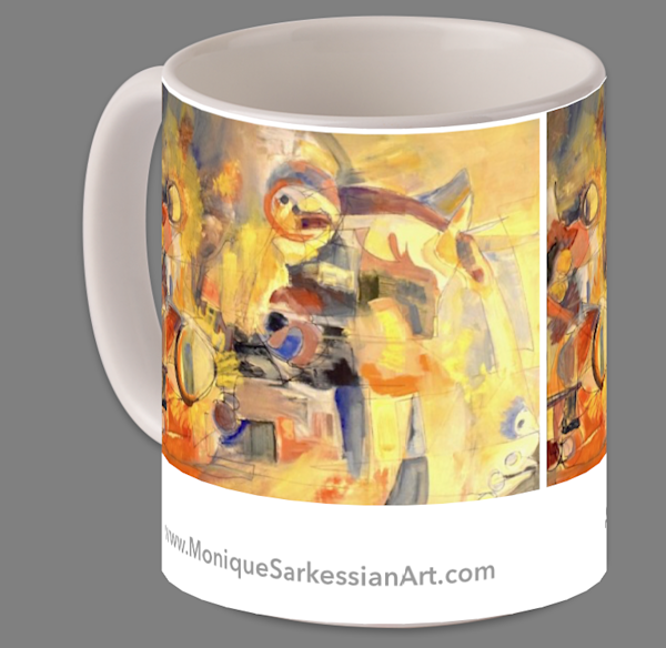 "11 oz Coffee/Tea Mugs With my art printed on them $20 ""Antithesis of Myth 2"""