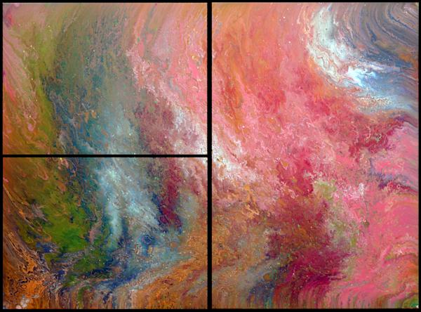 Origins 2 Triptych canvas prints