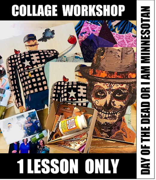 15 January 2019 - 1 LESSON COLLAGE WORKSHOP