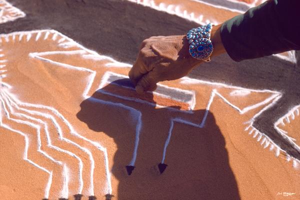 Sand Painting Design (UCB043)