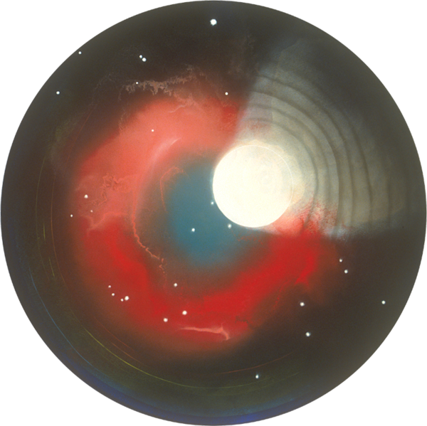 Sparrow's Eye, Red Nebula