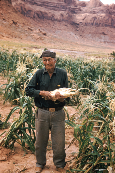 Man with corn (UCB075)