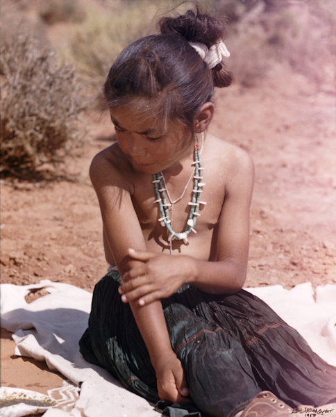 Girl Sitting (UCB026)