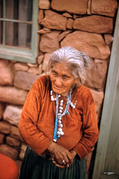 Woman in Orange (UCB100)