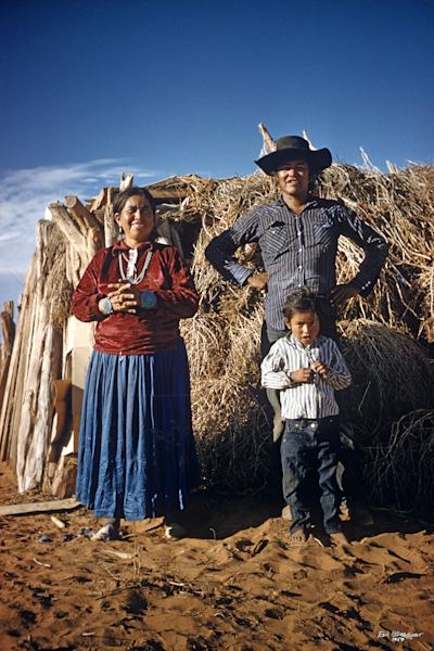 Family Outside Hogan (UCB101)