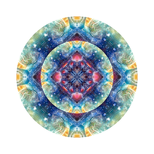 Tranquil Light M1 - Modern Mandala | A Psychedelic Art Project by Cameron Emmanuel