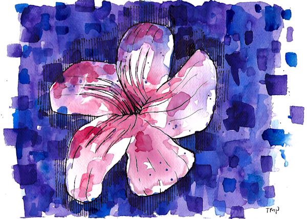 Matt Pierson Artworks | Magenta Flower