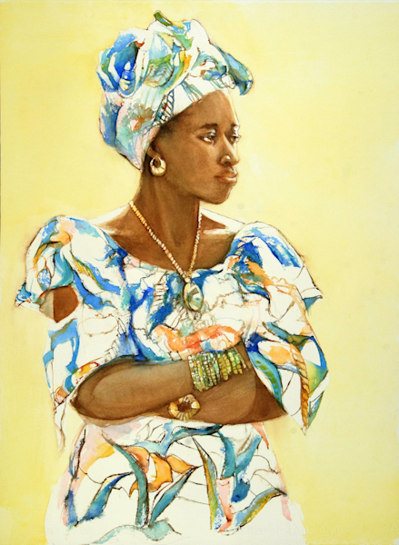West African Lady