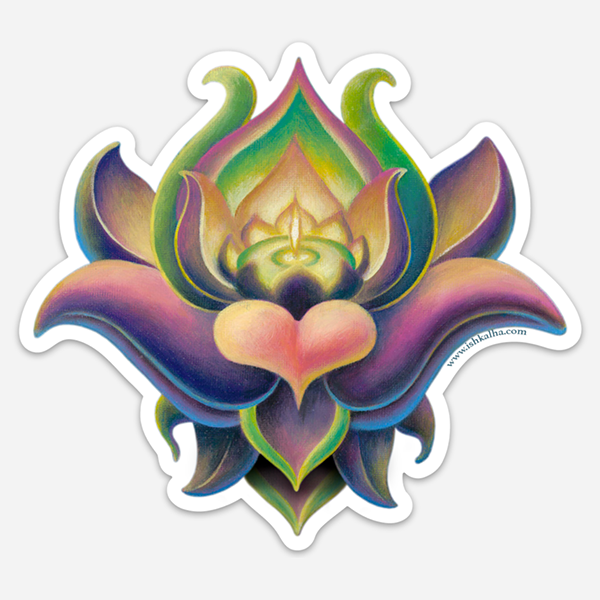 Wondeflor - Visionary Art Stickers by Ishka Lha