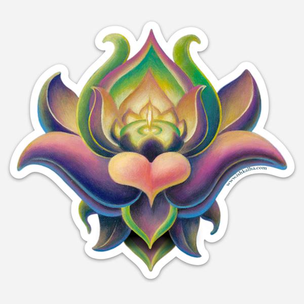 Wondeflor - Visionary Art Stickers by Ishka Lha