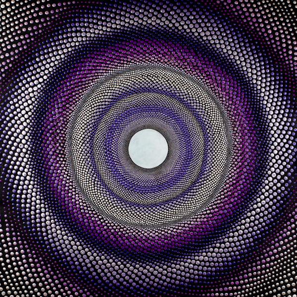 Purple Tunnel Print