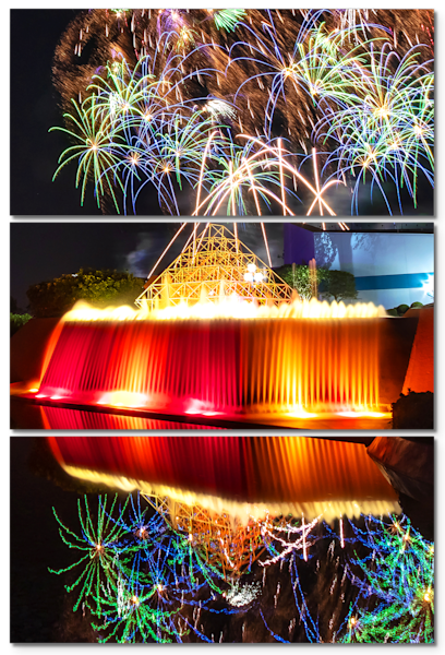 Imaginations Illuminations 1 - Disney Triptych Art
