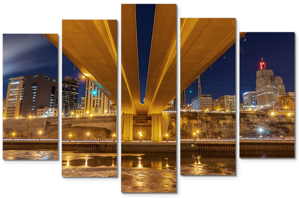 Wabasha Saint Paul - Minnesota Triptych Art