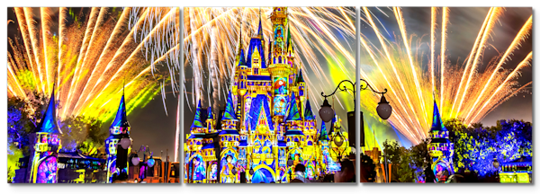 Happily Ever After 42 - Disney Panel Art | William Drew
