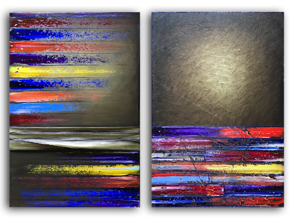 We Are Golden diptych