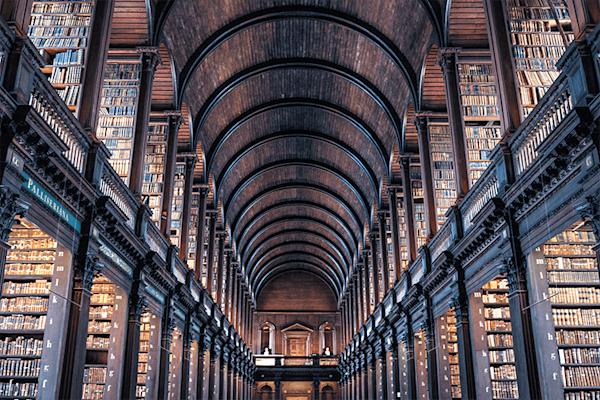 Great Library | Koop kunstfotografie print online | A-Galleria