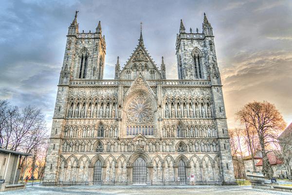 Nidaros Cathedral   Koop kunstfotografie print online   A-Galleria
