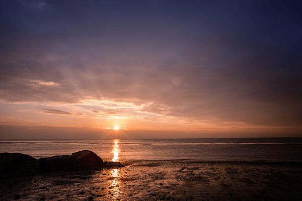Sea Sunset | Koop kunstfotografie print online | A-Galleria