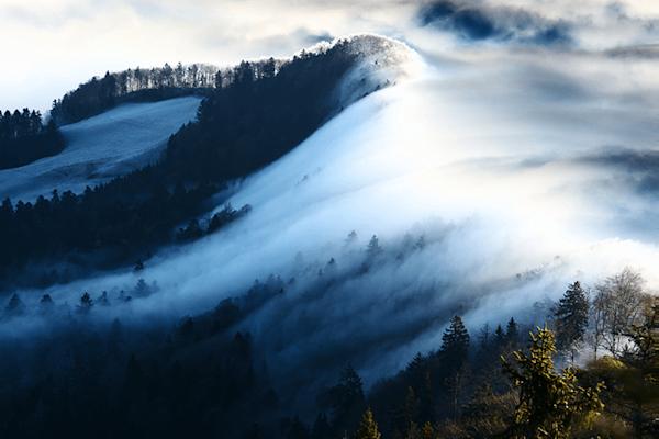 Wave of Fog | Koop kunstfotografie print online | A-Galleria