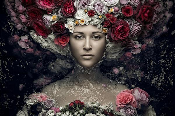 Flowergirl II | Beperkte oplage kunst print | A-Galleria