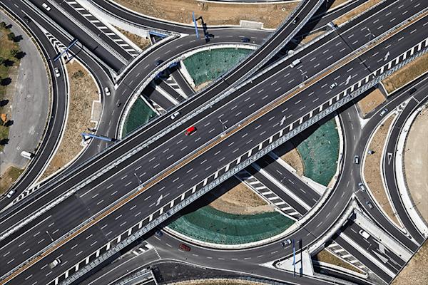 Kreisverkehr |  Koop exclusieve kunstfoto print online | A-Galleria