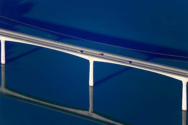 Lechbrücke | Koop exclusieve kunstfoto print online | A-Galleria