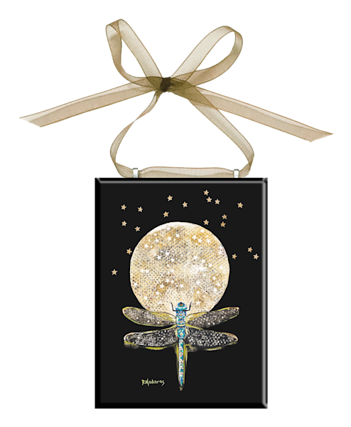 Fly Away Glass Ornament by Diana Madaras