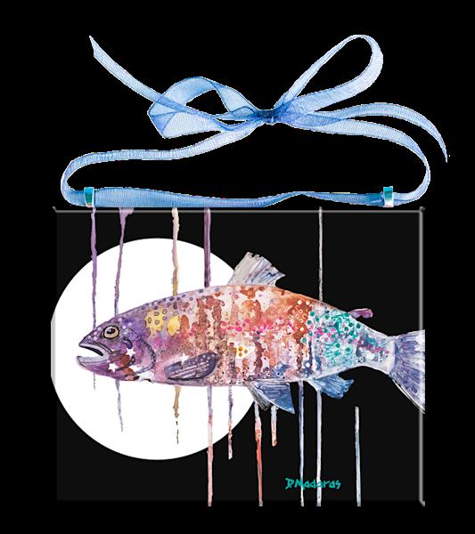 Over the Rainbow II Glass Ornament