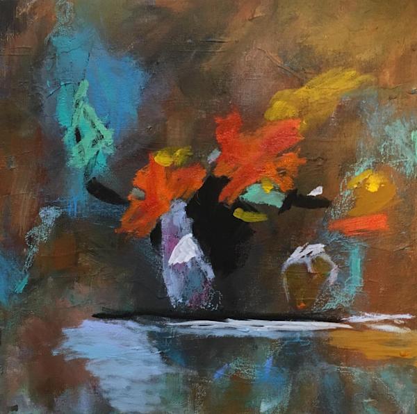 Lazy Flowers Art | Mary Kinzelberg Art