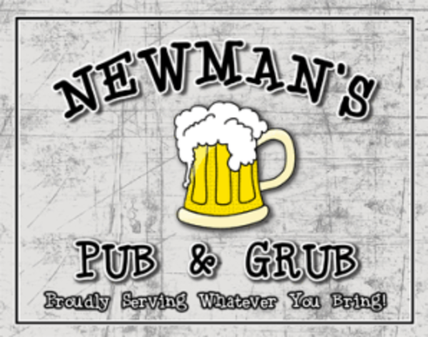 Customizable Pub & Grub Poster