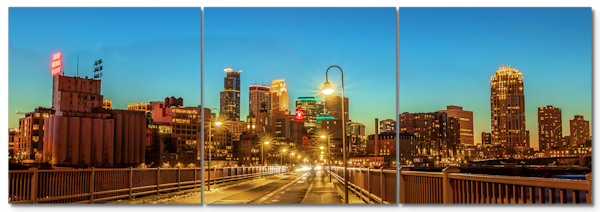 Stone Arch Scenery - Minneapolis Panel Art | William Drew Photography