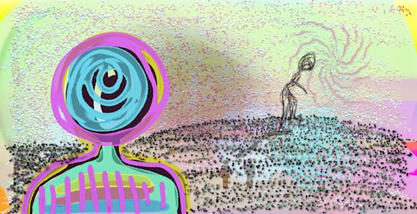 Walk Between Art | laineek