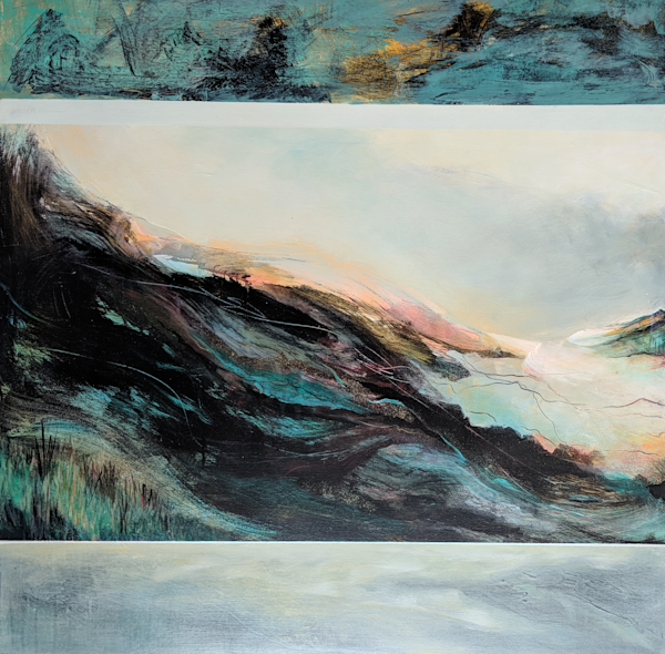 Cascade 1   #1803 Art | Susanne Clark