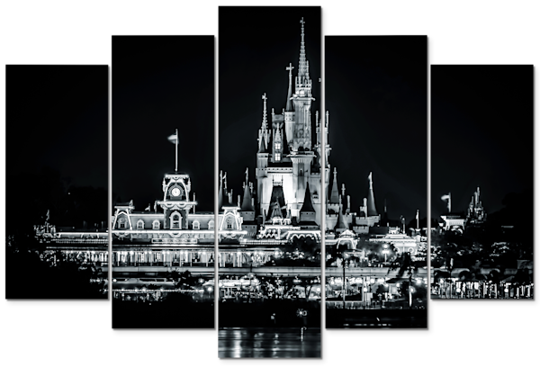 Disney Panel Art - Ready to Hang Multi-Panel Prints on Canvas and Metal