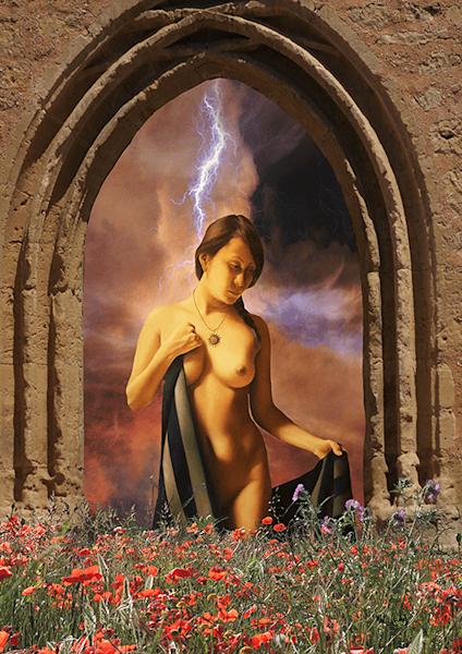 Et Eve Arriva | Exclusief kunst print | Max Parisot de Lyaumont