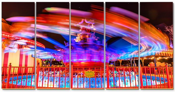Dumbo the Flying Elephant - Disney Canvas | William Drew Photography