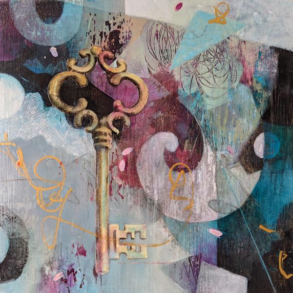 Love Is The Key   #16005 Sold Art | Susanne Clark