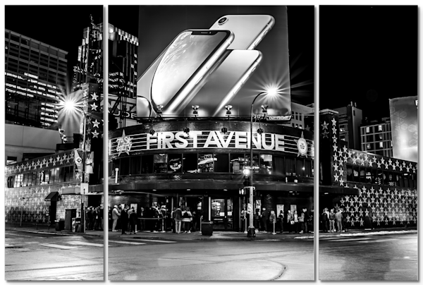 First Avenue 4 - Minneapolis Triptych Art | William Drew