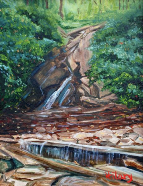 End of Summer at Glen Onoko Falls fine art print