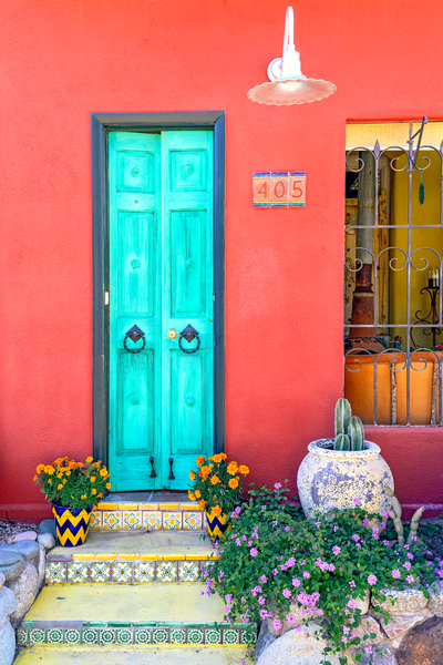 Turquoise Door  Photography Art | Images by Louis Cantillo