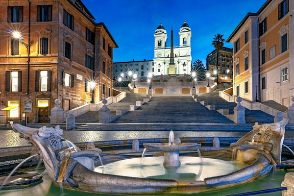Spanish Steps Rome Italy Photography Art | Images by Louis Cantillo