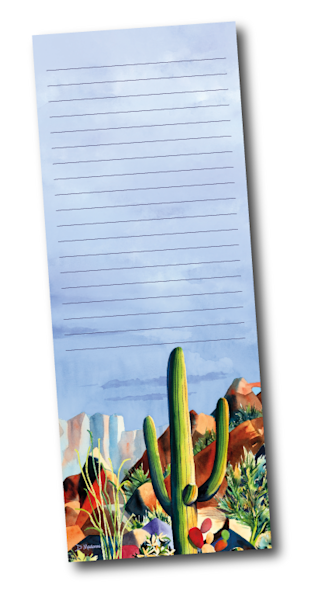 One Purple Rock Notepad by Diana Madaras
