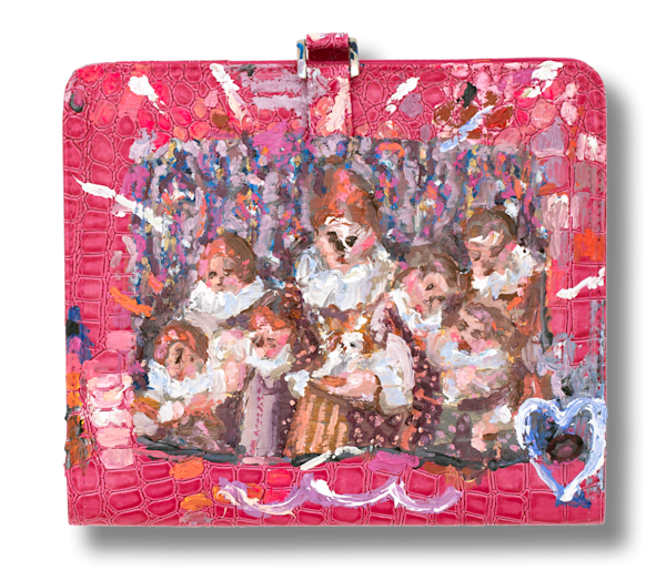 Royal Gingers Painting | On a Purse